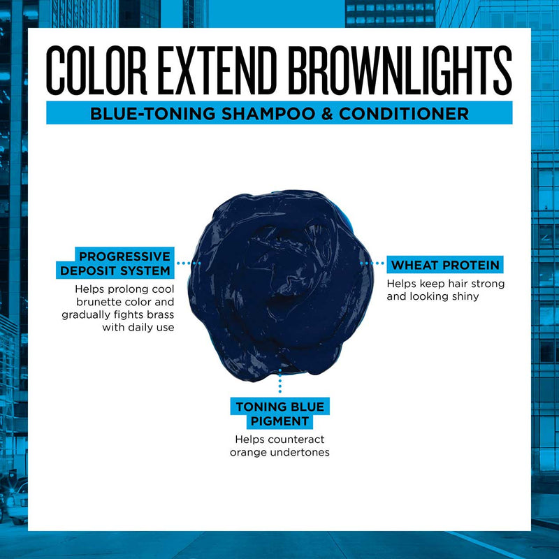 REDKEN COLOR EXTEND BROWNLIGHTS SULFATE FREE BLUE CONDITIONER