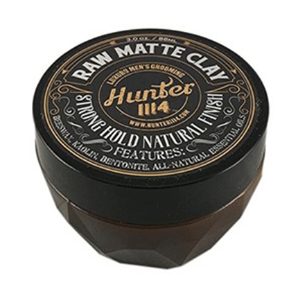 Hunter 1114 - Raw Matte Clay Strong Hold Natural Finish