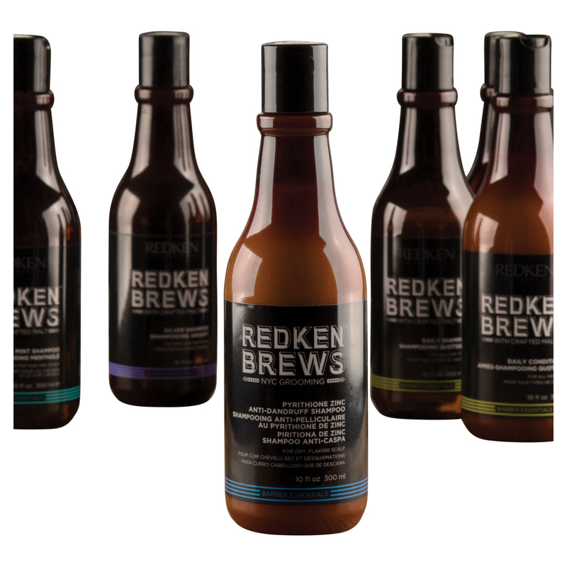 Redken® Brews Anti Dandruff Shampoo.