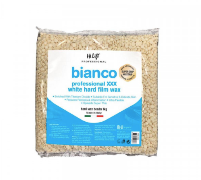 Hi Lift Sicilian Bianco Professional Hard Film Wax Ultra Flex 1kg