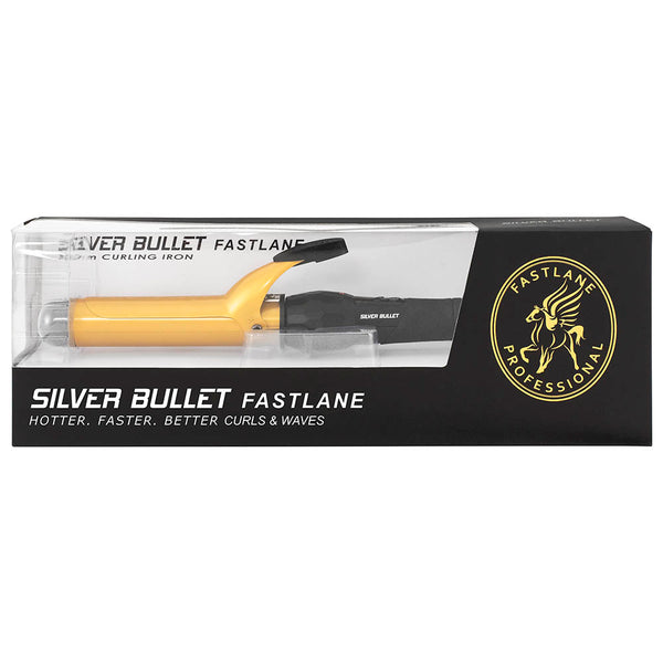 Silver Bullet 25 mm Curling Iron - Gold