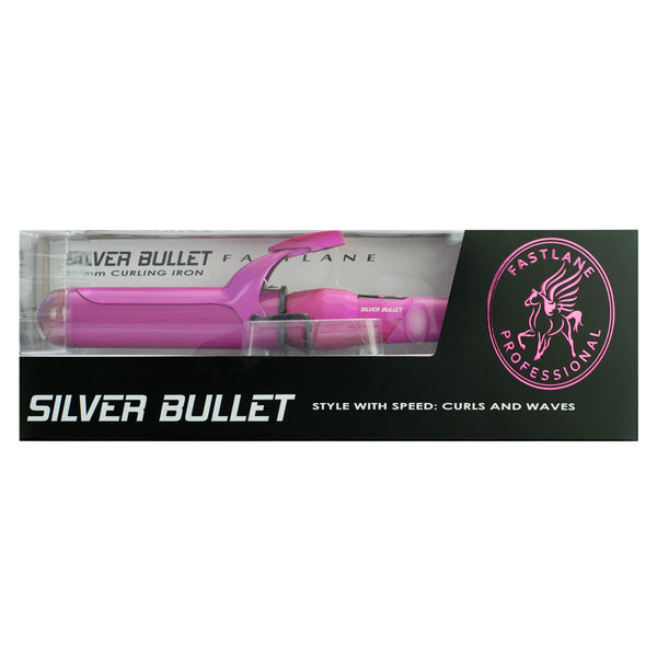 Silver Bullet 25 mm Curling Iron - Hot Pink