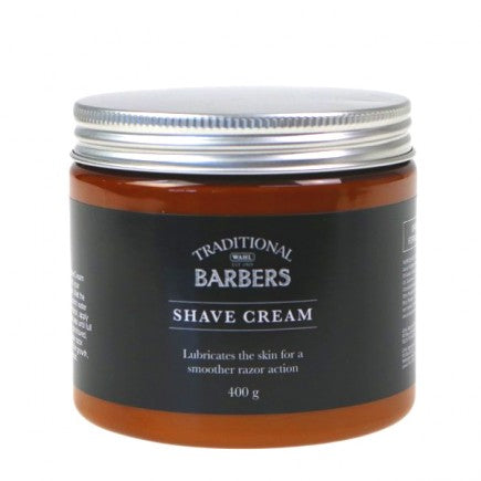 Traditional Barber Shave Cream 400g