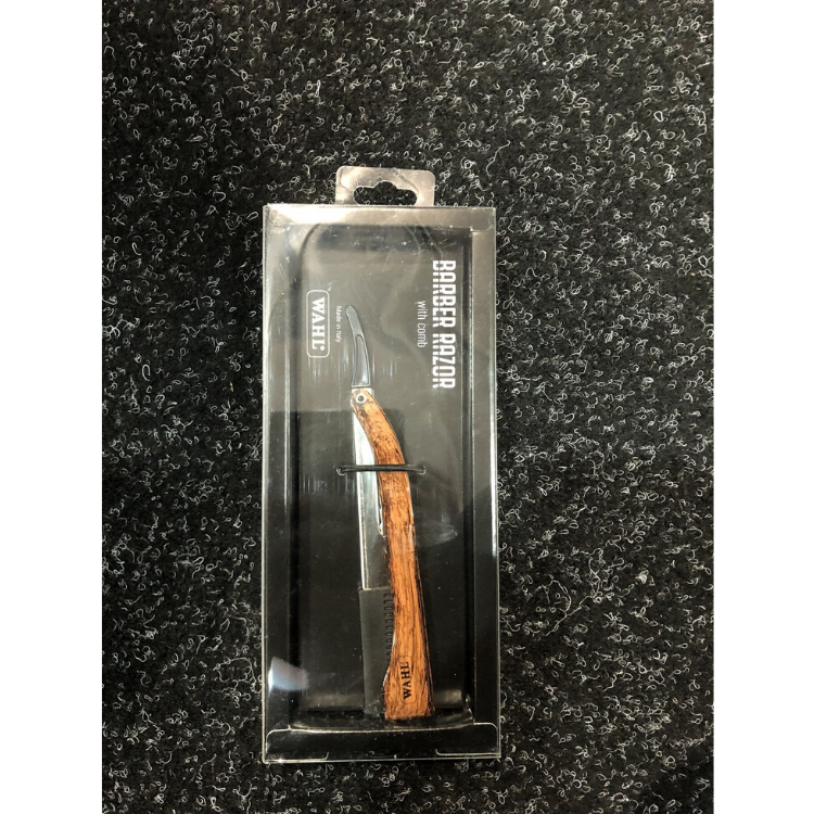 WAHL BARBER RAZOR -WOOD