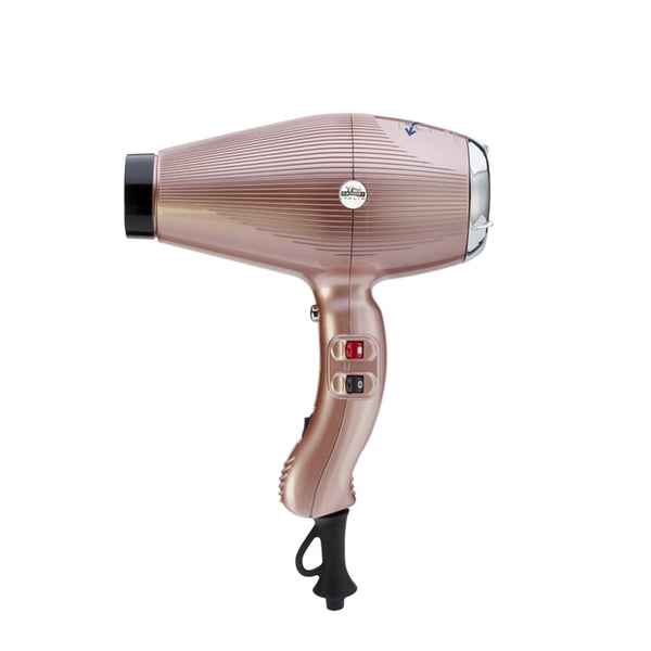 Gamma+ Aria Dual Ionic Gold Rose Hairdryer 2200W