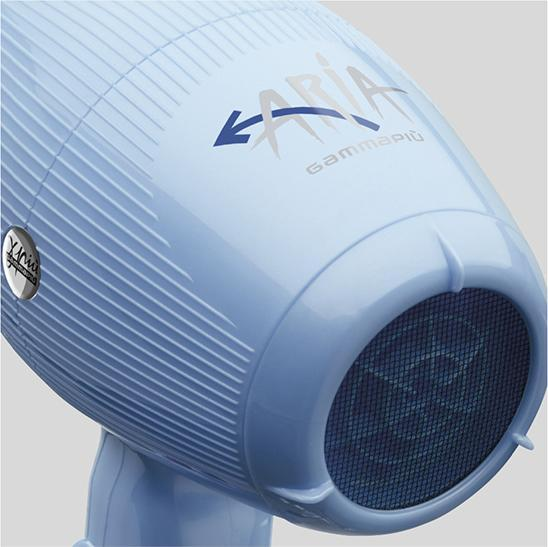 Gamma+ Aria Ultra Light 2200W Hair Dryer - Light blue
