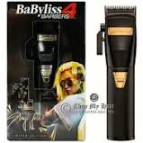 BABYLISS PRO BLACK FX LITHIUM CLIPPERS | BARBERS INFLUENCER COLLECTION