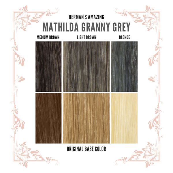 Herman's Amazing Mathilda Granny Grey