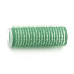 Hair Fx Magic Grip Velcro Rollers 12pc – 21mm Green