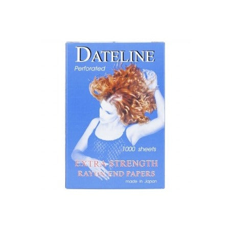 Dateline Perforated Extra Strength Rayon End Papers 1000.