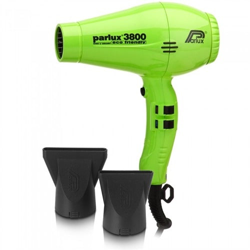 Parlux 3800 Ionic & Ceramic Eco Friendly (Green)