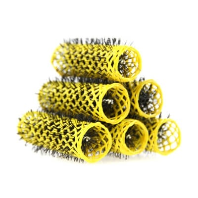 SWISS ROLLERS 20MM YELLOW (PK6)
