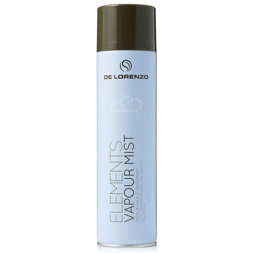 De Lorenzo Elements Vapour Mist Medium Hold Spray 400g