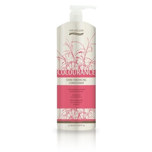 Natural Look Hair Food Colourance Shine Enhancing Conditioner 1L.