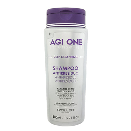 AGI ONE Anti Residue Shampoo 500ml.
