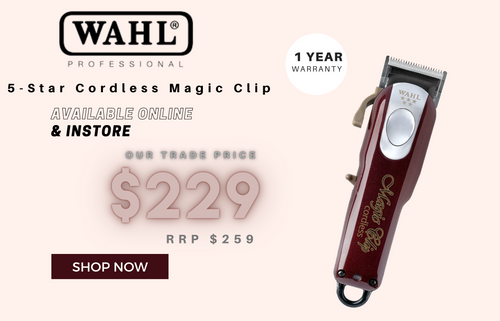 Wahl 5-star cordless magic clip Available online and in store trade price