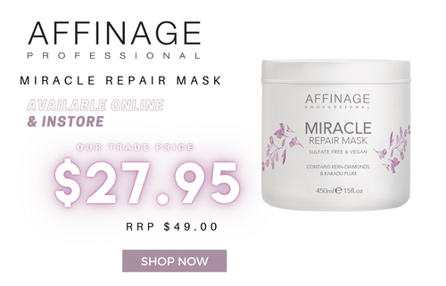 Affinage Miracle Repair Mask Cheapest Online Price Australia at Hair Beauty Ink Salon and Beauty Supplies Online