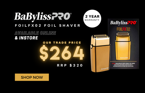 Shop Babyliss PRO Foilfx02 Foil Shaver trade price shop now online and in store at hair beauty ink