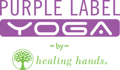 Purple Label Yoga Scrub Logo