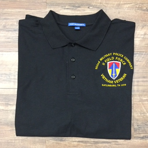 Embroidered Logo Polo