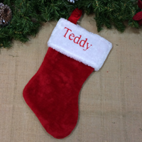 personalized christmas stocking-teddy inc