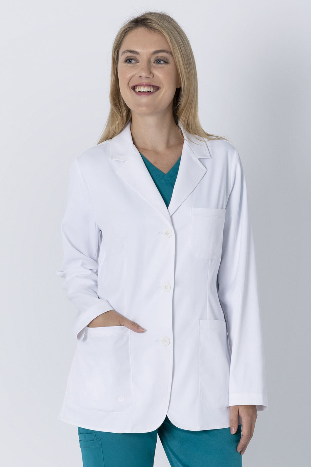 White Lab Coat Front