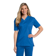 Load image into Gallery viewer, unisex medical uniform royal blue