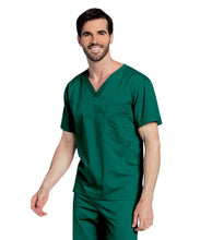 Load image into Gallery viewer, 4139 Unisex Scrub  Hunter Green