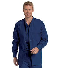 Load image into Gallery viewer, Men's Warm up Jacket with Snaps and knit cuffs -7551 teddyincorp