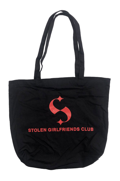 Glitter Branded Canvas Tote Bag Stolen