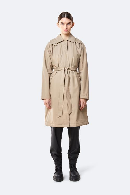 Womens trench coat. Found online and in store at Voyant, Invercargill.