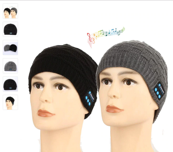 Bonnet Chaud Sans Fil Bluetooth