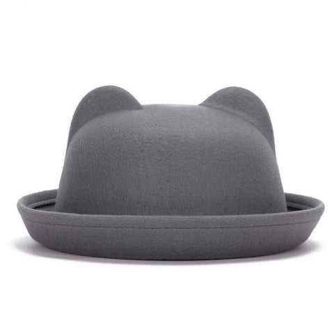 Chapeau fedora oreilles de chat 2019 Fashion