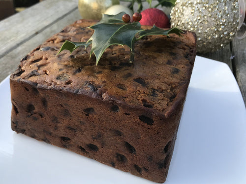 Silla Keyser Fig & Ginger Christmas Cake