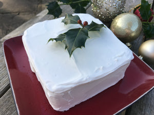 Silla Keyser Iced Fig & Ginger Christmas Cake