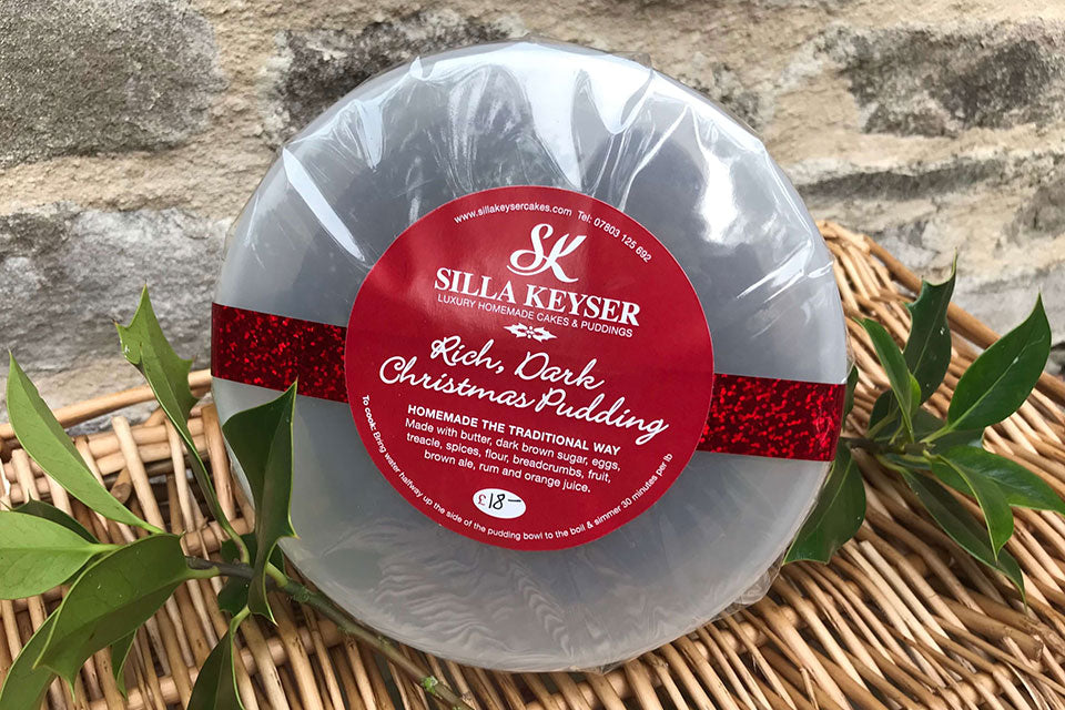 Silla Keyser Luxury Christmas Pudding