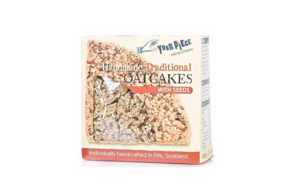 Your Piece Handmade Seeded Oatmeal Oatcakes