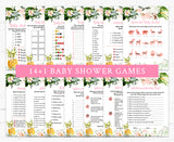 Pineapple Baby Shower Game Pack