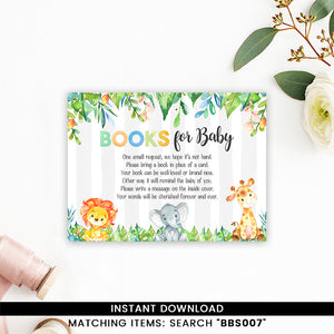 Safari Jungle Elephant, Lion, Giraffe Books for Baby