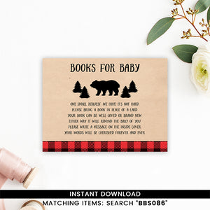 Lumberjack Books for Baby