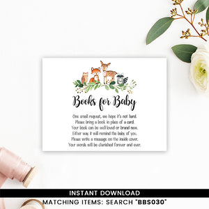 Greenery Woodland Books for Baby
