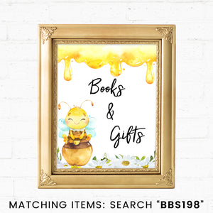Bee Books And Gifts Printable Sign