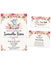Cheers Bundle: Elephant Floral Boho Invitation Pack