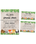 Cheers Bundle: Woodland Baby Shower Invitation Pack