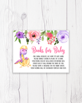Purple and Pink Dinosaur Books for Baby