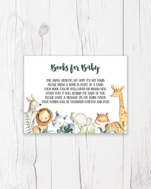 Safari Animals Books for Baby