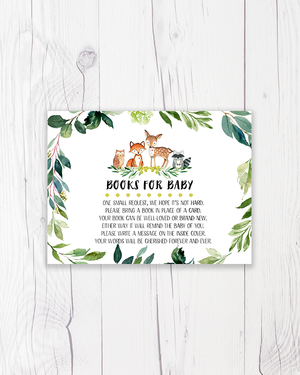 Greenery Woodland Forest Books for Baby