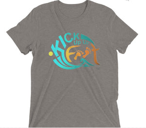 Kick Up Ur Feet™ Universal Tri-Blend Limited Edition T-shirt - Dark