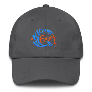 Kick Up Ur Feet™ Limited Edition Two-Tone Cotton Cap
