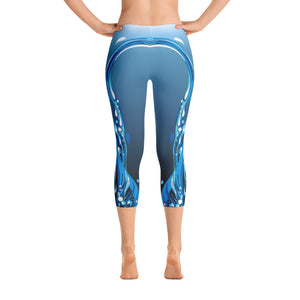 Blue Lagoon Limited Edition Waterfall Capris